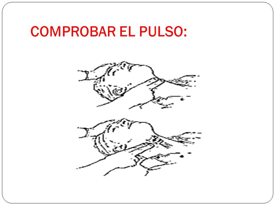 COMPROBAR EL PULSO: