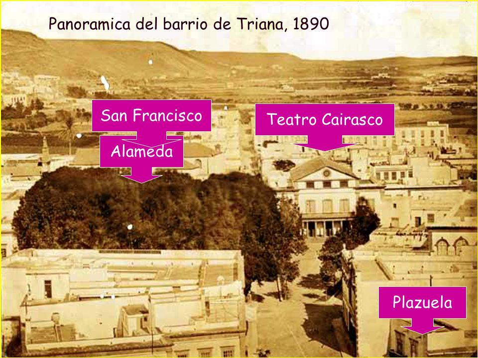 Panoramica del barrio de Triana, 1890
