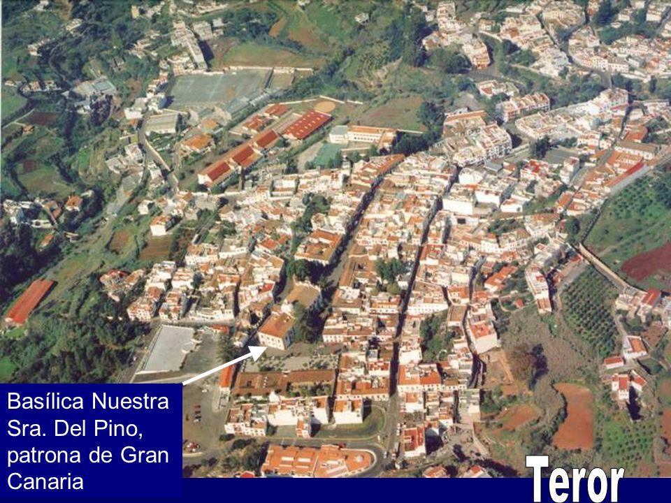Basílica Nuestra Sra. Del Pino, patrona de Gran Canaria Teror
