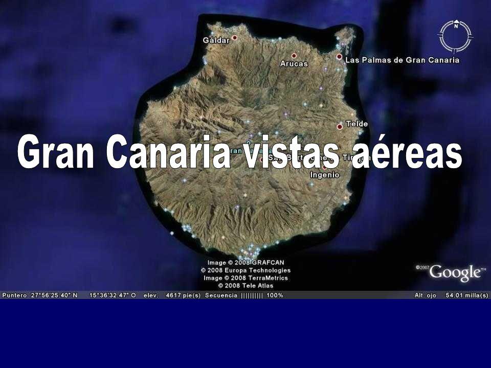 Gran Canaria vistas aéreas