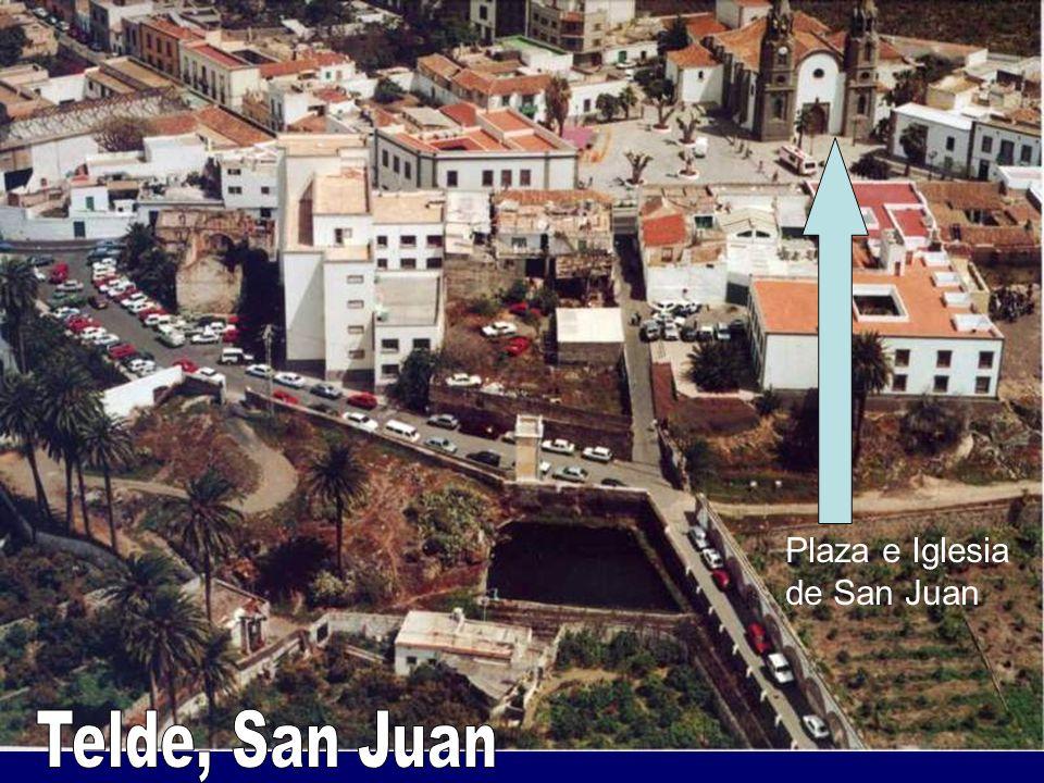 Plaza e Iglesia de San Juan Telde, San Juan