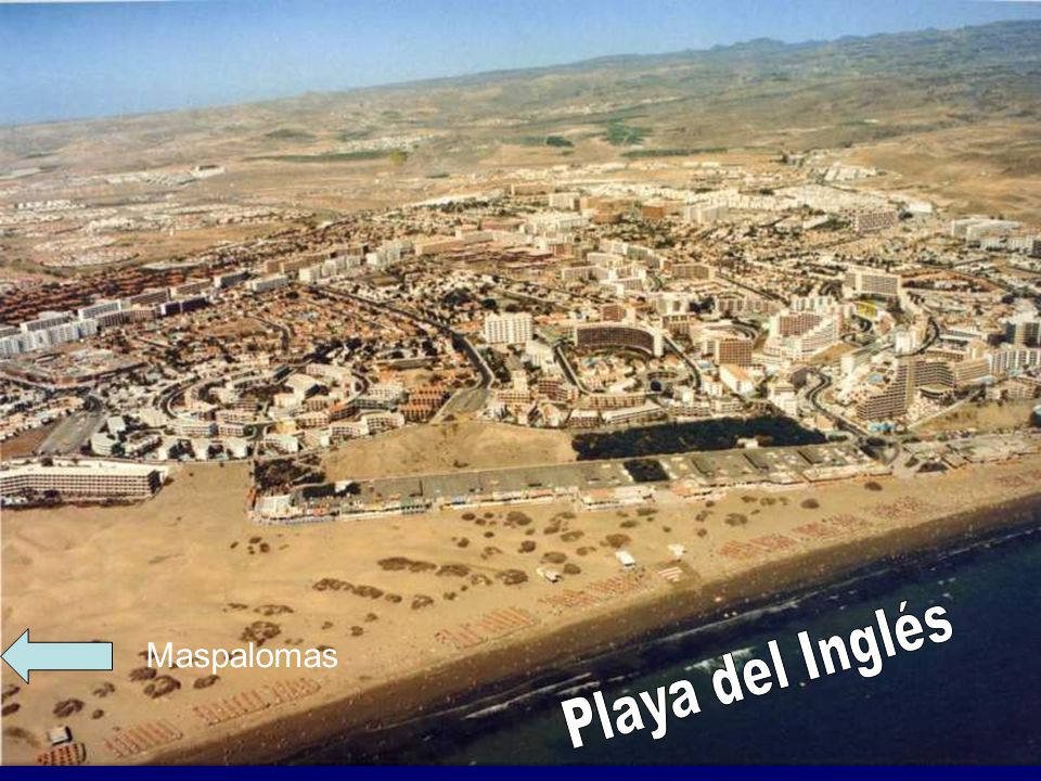 Maspalomas Playa del Inglés