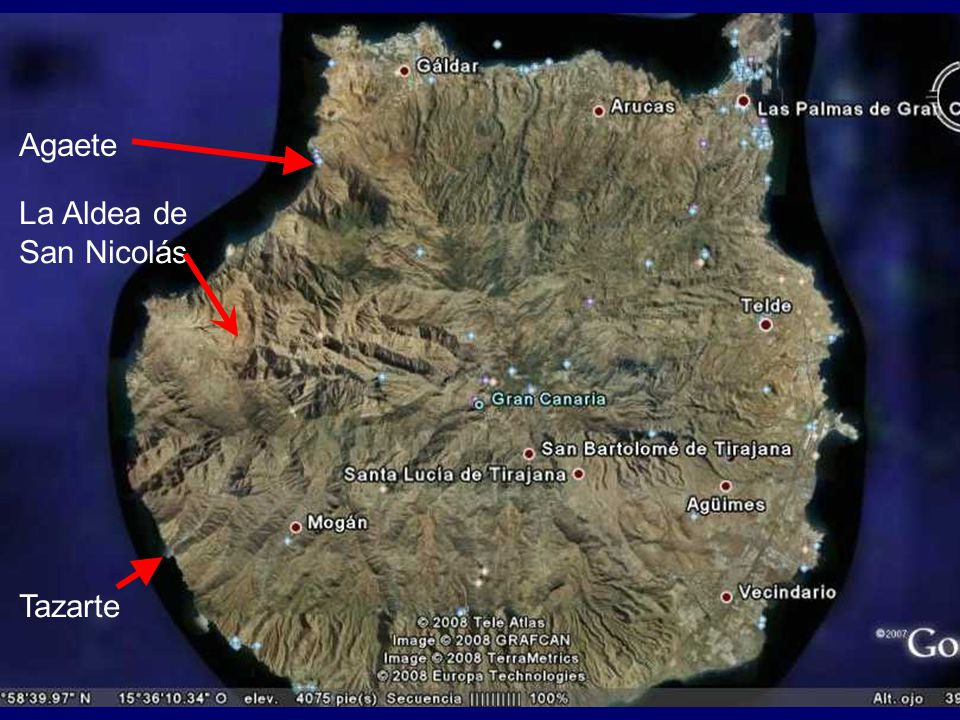 Agaete La Aldea de San Nicolás Tazarte