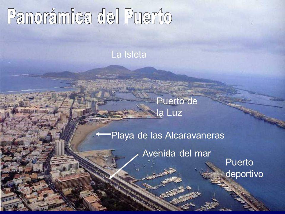 Panorámica del Puerto La Isleta Puerto de la Luz
