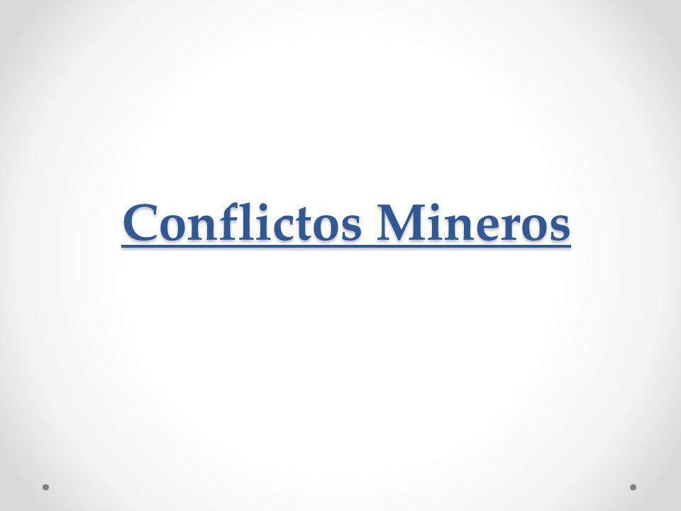 Conflictos Mineros