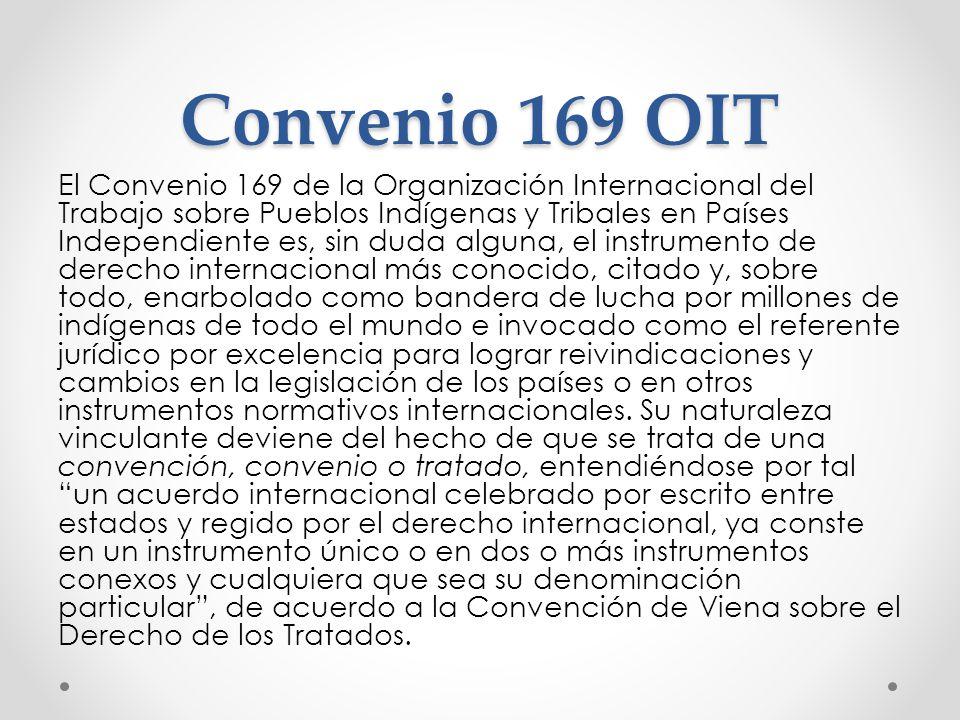 Convenio 169 OIT