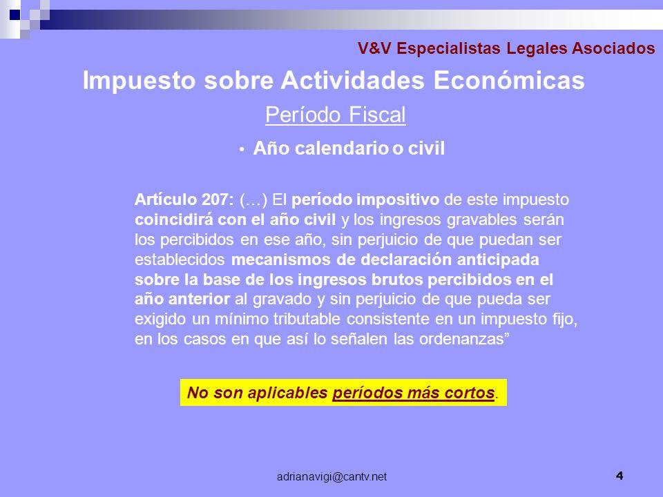 Impuesto sobre Actividades Económicas