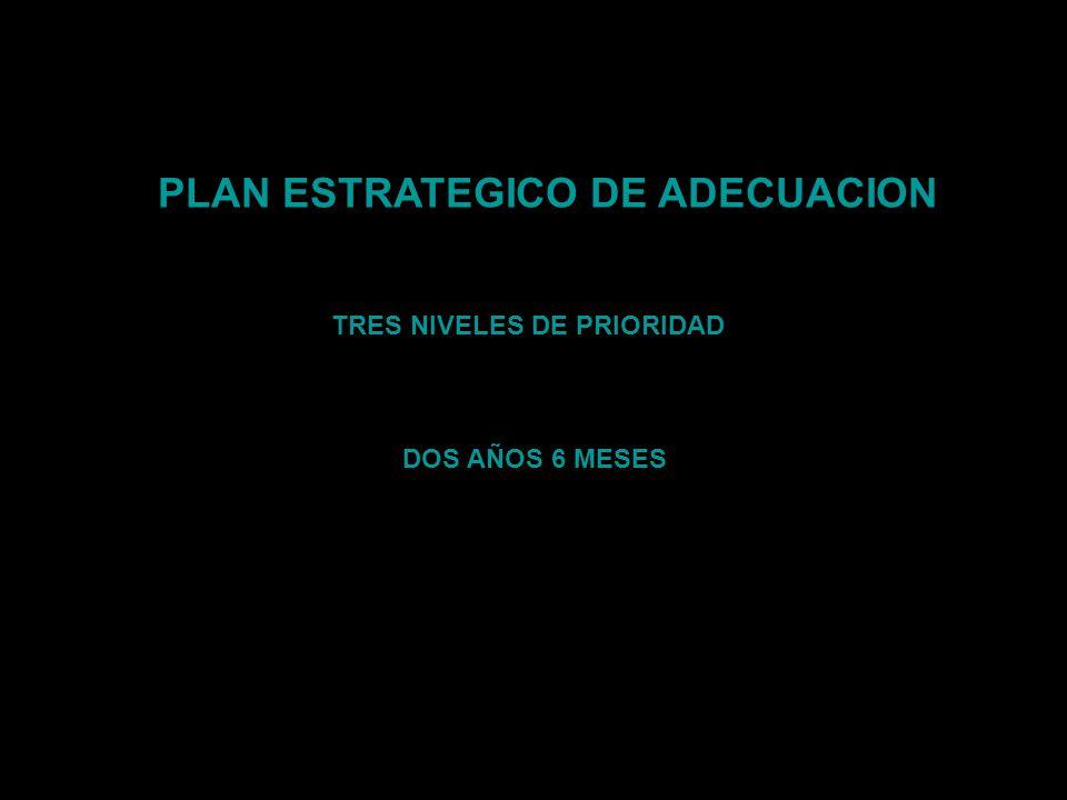 PLAN ESTRATEGICO DE ADECUACION