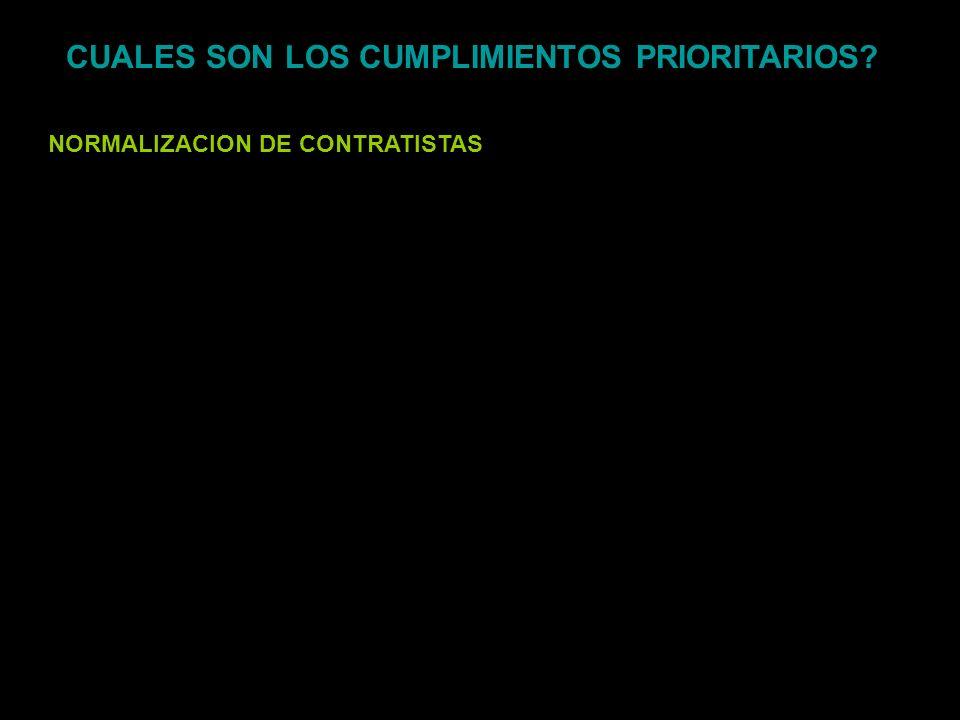 CUALES SON LOS CUMPLIMIENTOS PRIORITARIOS
