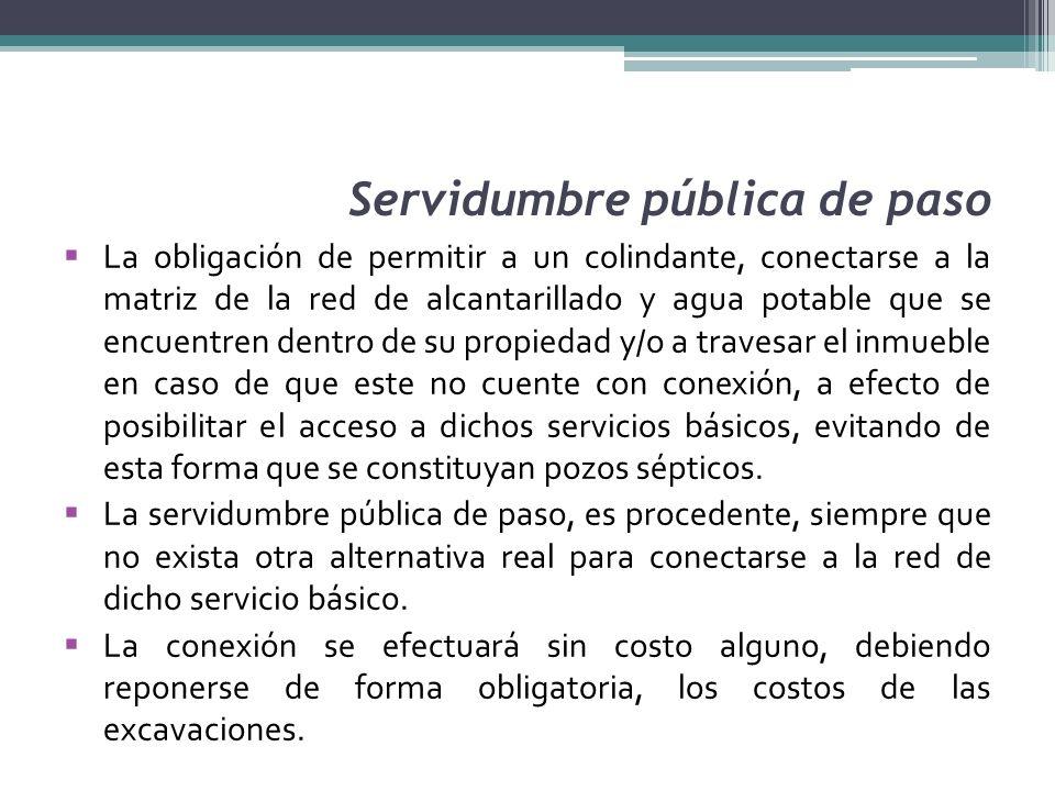 Servidumbre pública de paso