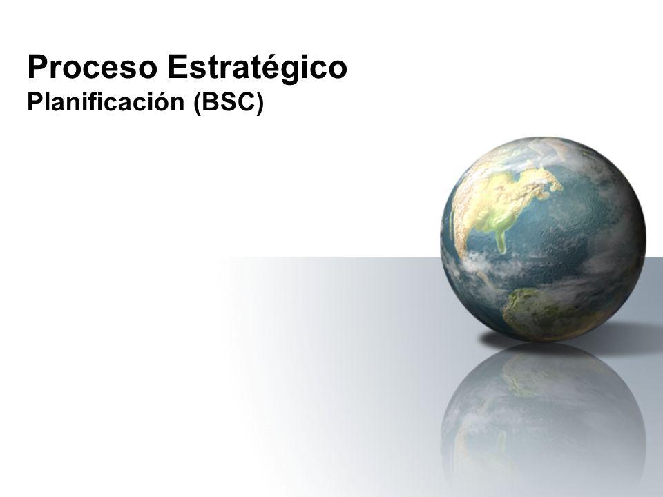 Proceso Estratégico Planificación (BSC)