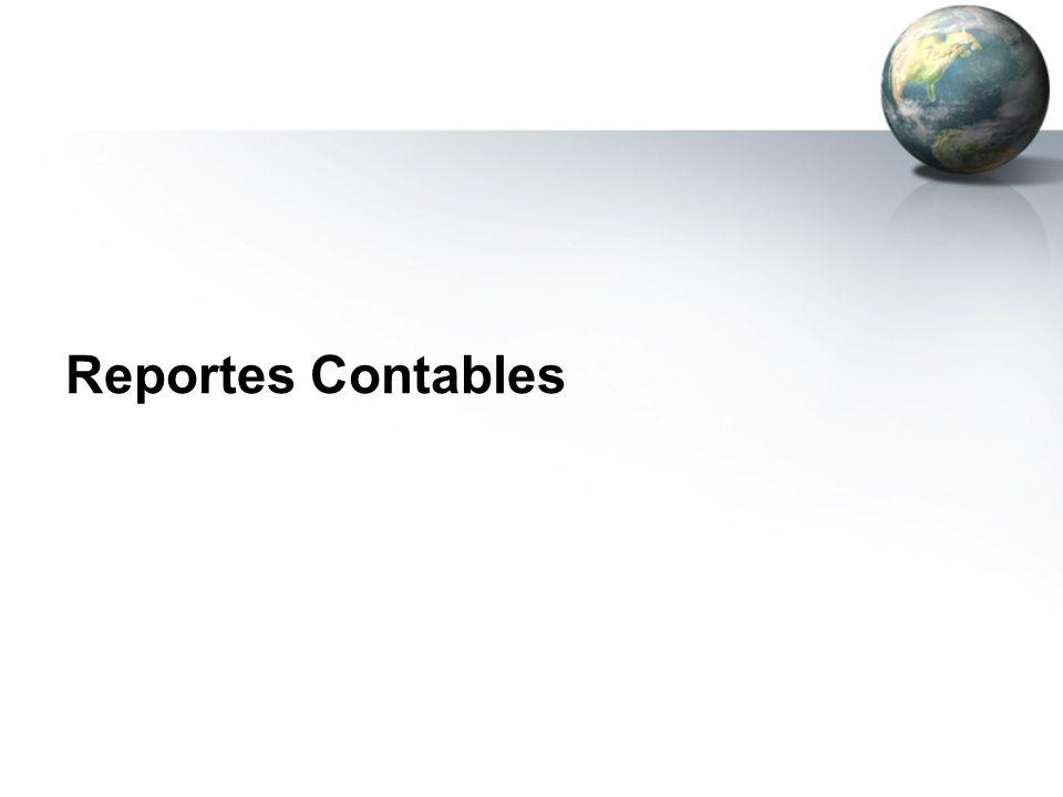 Reportes Contables