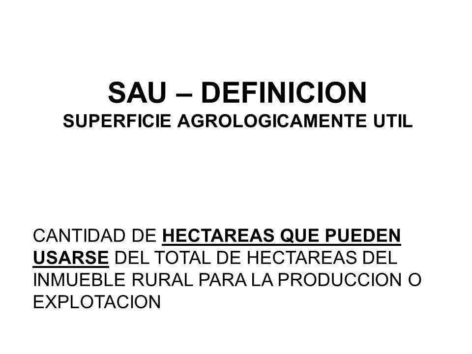 SUPERFICIE AGROLOGICAMENTE UTIL