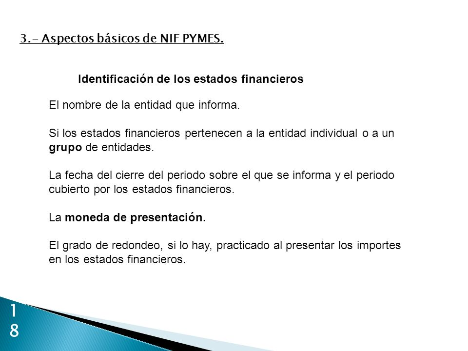 1818 3.- Aspectos básicos de NIF PYMES.