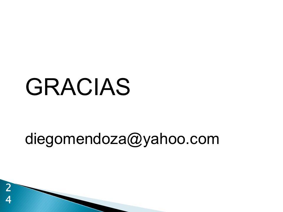 GRACIAS diegomendoza@yahoo.com 2424
