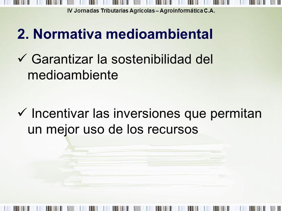2. Normativa medioambiental