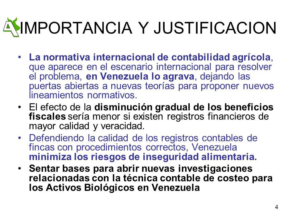 IMPORTANCIA Y JUSTIFICACION