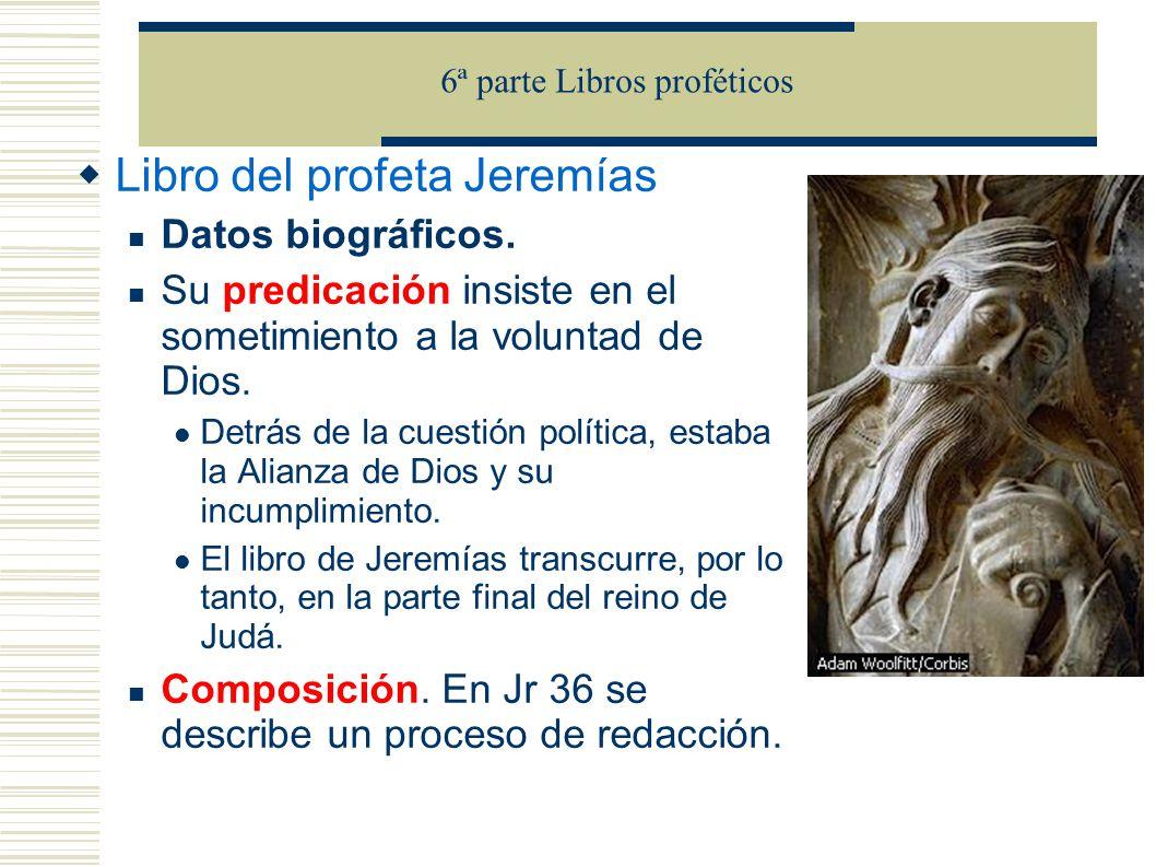 6ª parte Libros proféticos