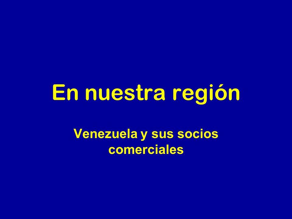 Venezuela y sus socios comerciales
