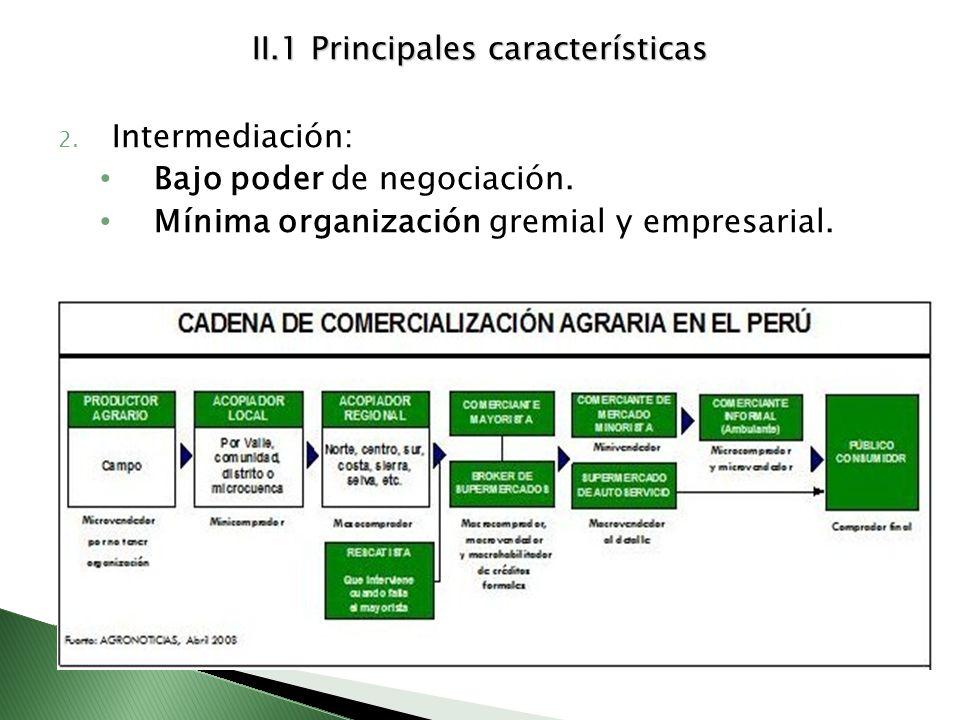 II.1 Principales características