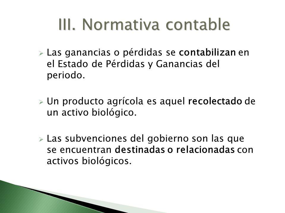 III. Normativa contable