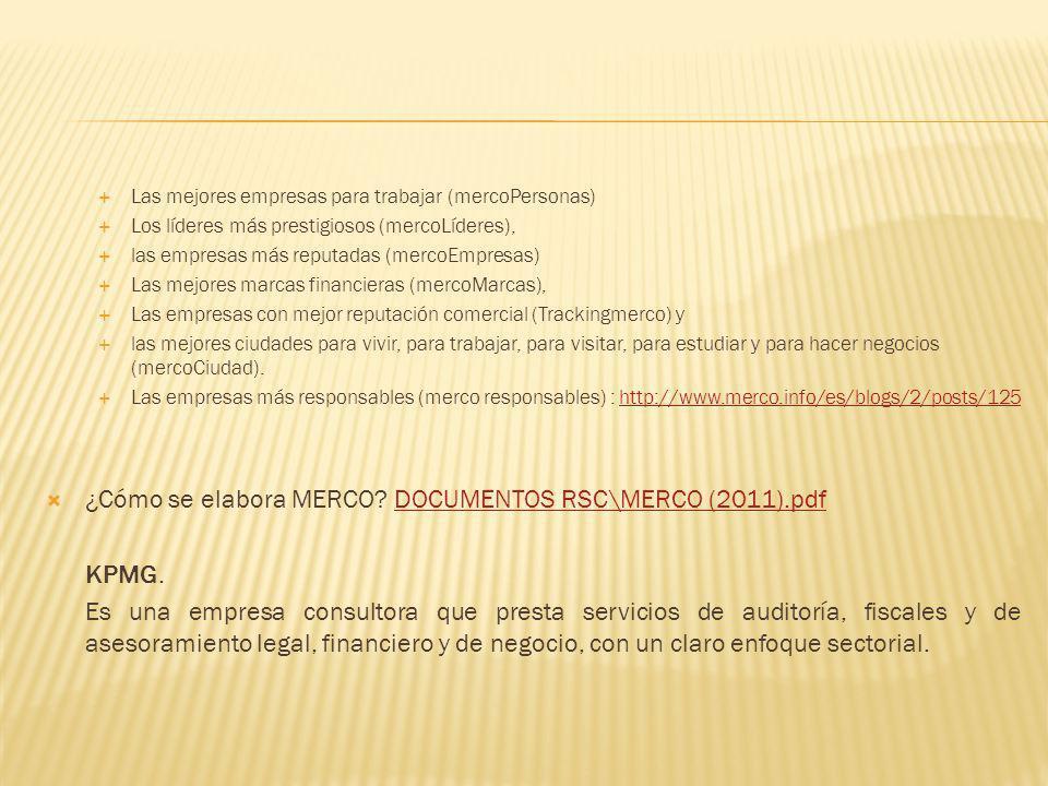¿Cómo se elabora MERCO DOCUMENTOS RSC\MERCO (2011).pdf KPMG.