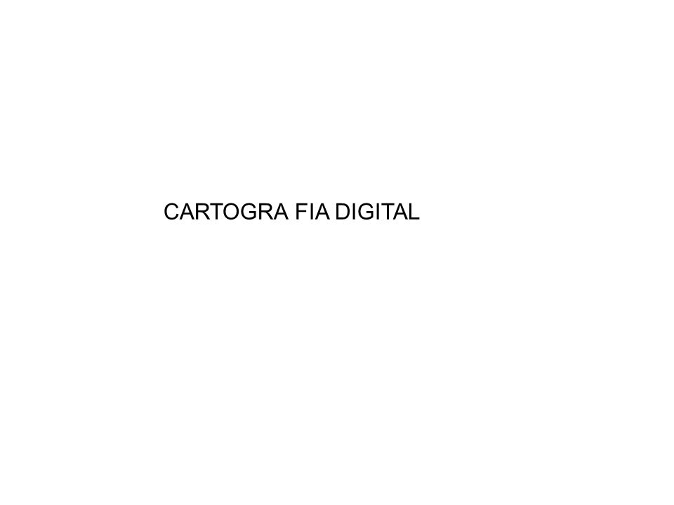 CARTOGRA FIA DIGITAL