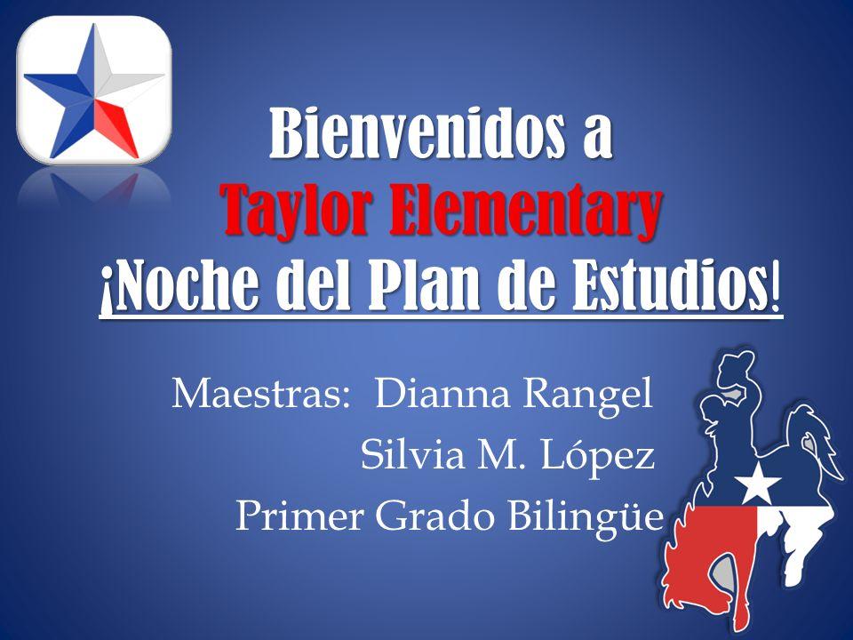 Bienvenidos a Taylor Elementary ¡Noche del Plan de Estudios!