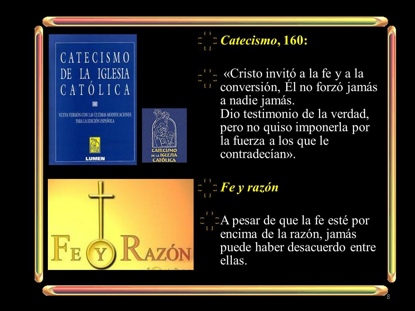 Catecismo, 160: