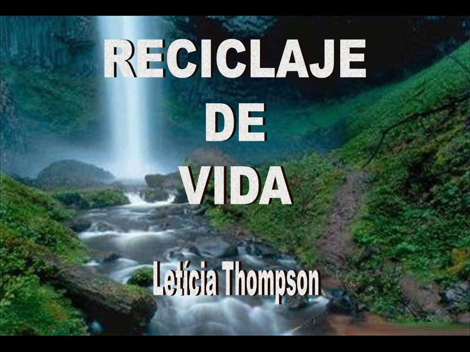 RECICLAJE DE VIDA Letícia Thompson