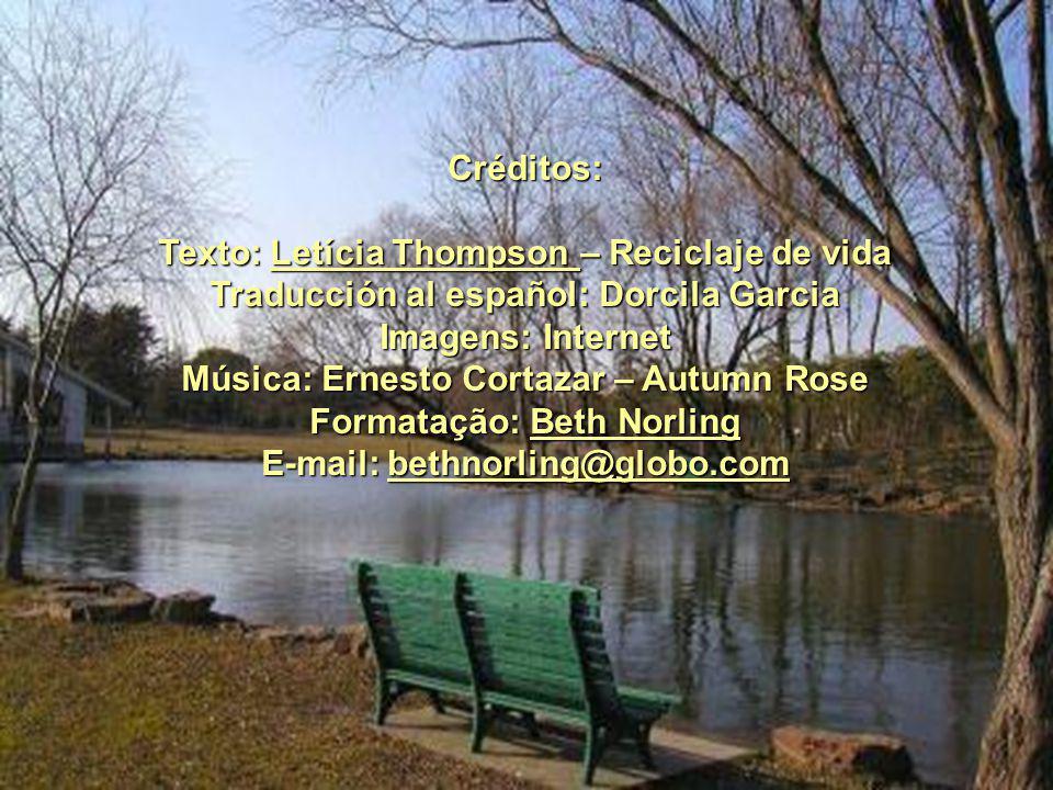 Texto: Letícia Thompson – Reciclaje de vida