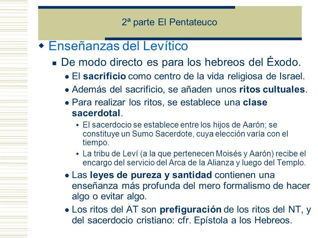 Enseñanzas del Levítico