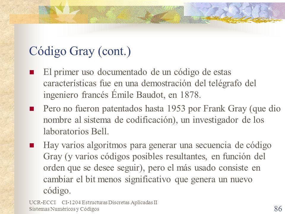 Código Gray (cont.)