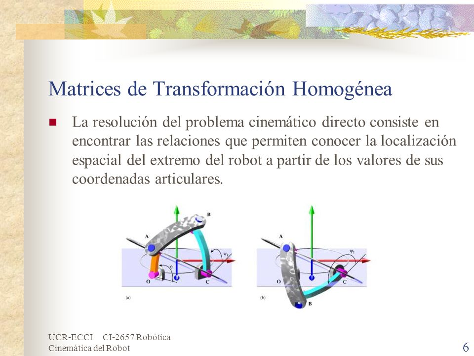 Matrices de Transformación Homogénea
