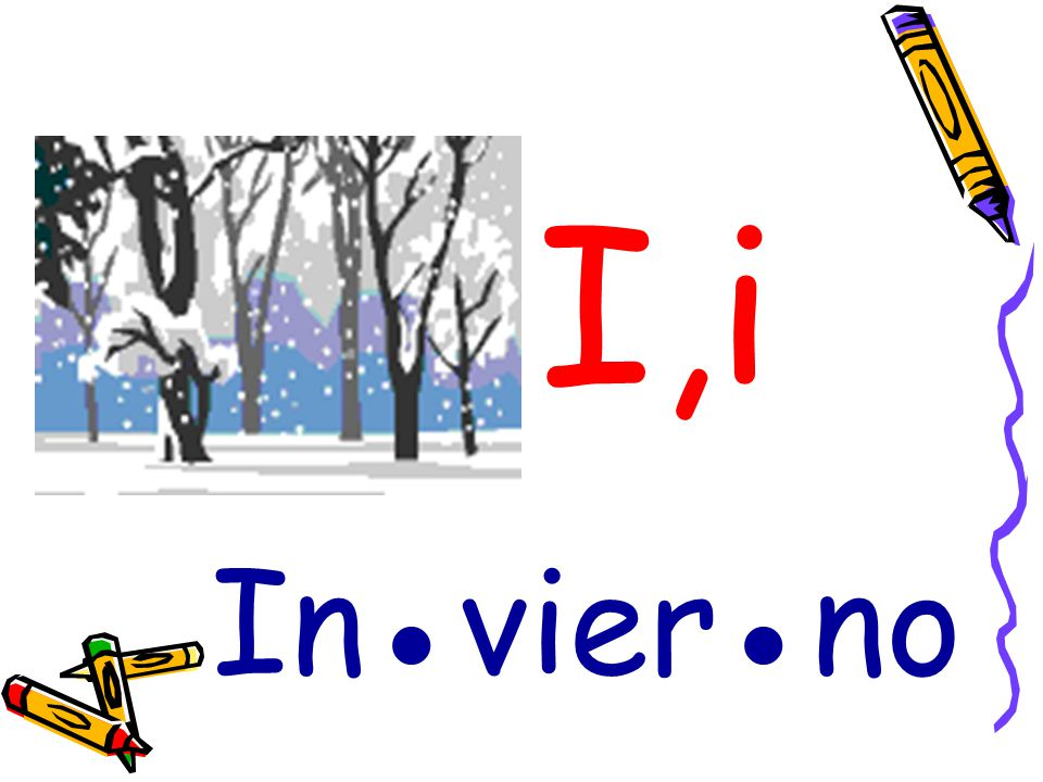 I,i In●vier●no