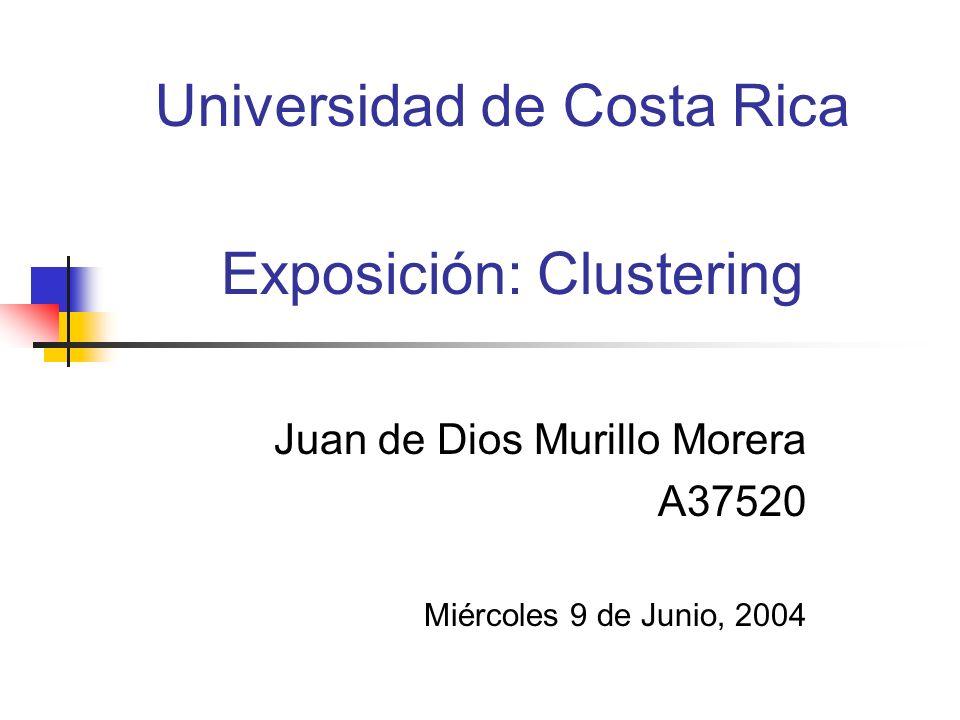 Exposición: Clustering