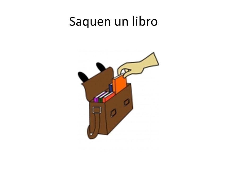 Saquen un libro