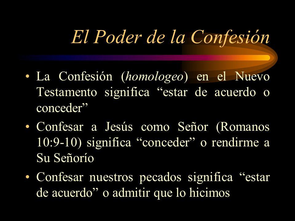 El Poder de la Confesión