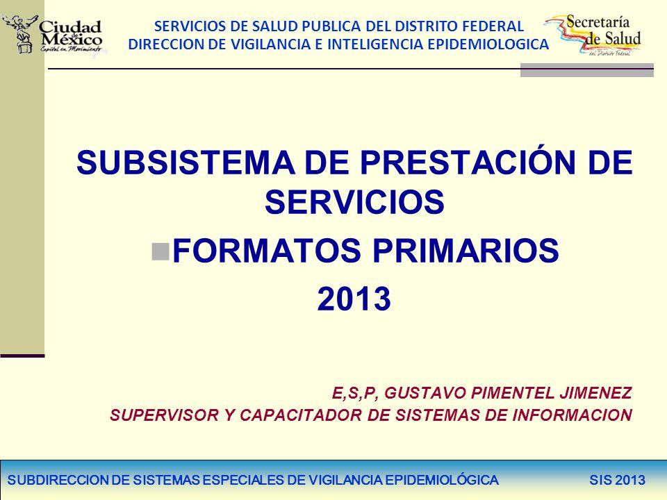 SUBSISTEMA DE PRESTACIÓN DE SERVICIOS