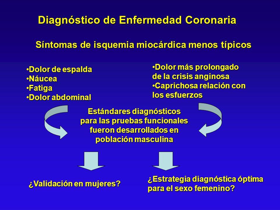 Diagnóstico de Enfermedad Coronaria