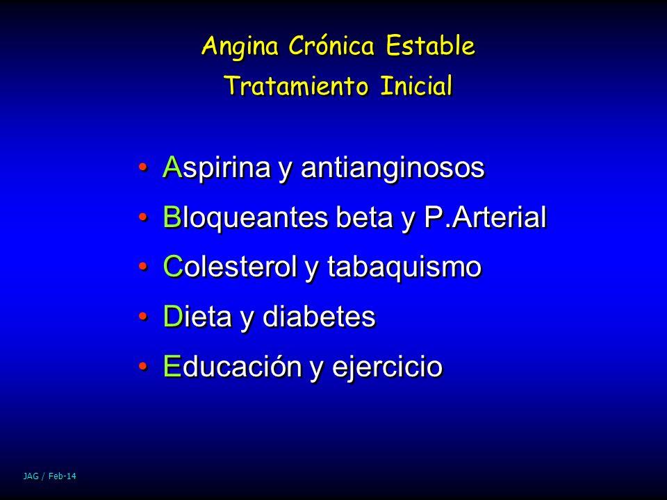 Angina Crónica Estable