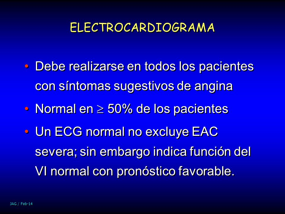 Normal en  50% de los pacientes