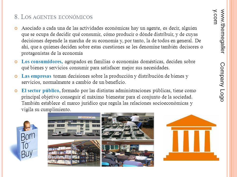 8. Los agentes económicos