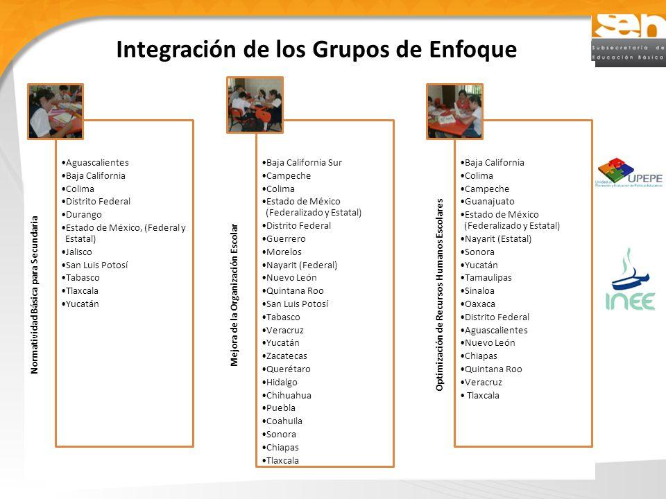 Integración de los Grupos de Enfoque
