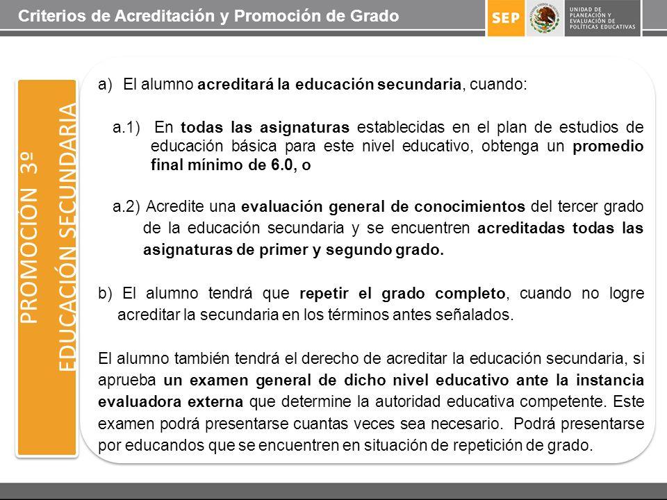 EDUCACIÓN SECUNDARIA PROMOCIÓN 3º