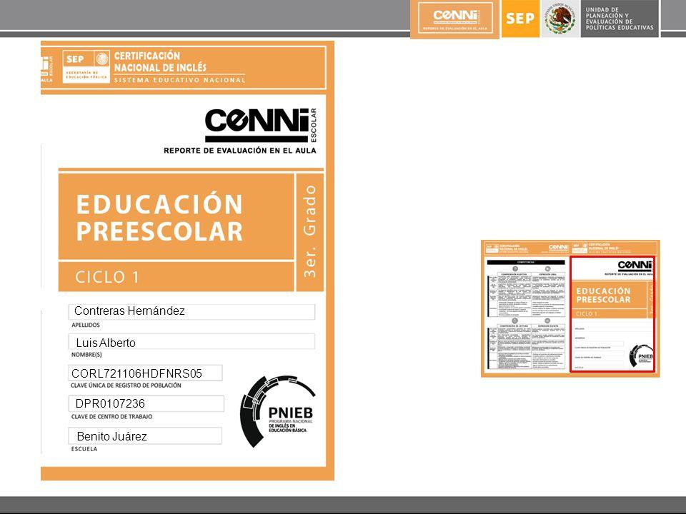 Contreras Hernández Luis Alberto CORL721106HDFNRS05 DPR0107236 Benito Juárez