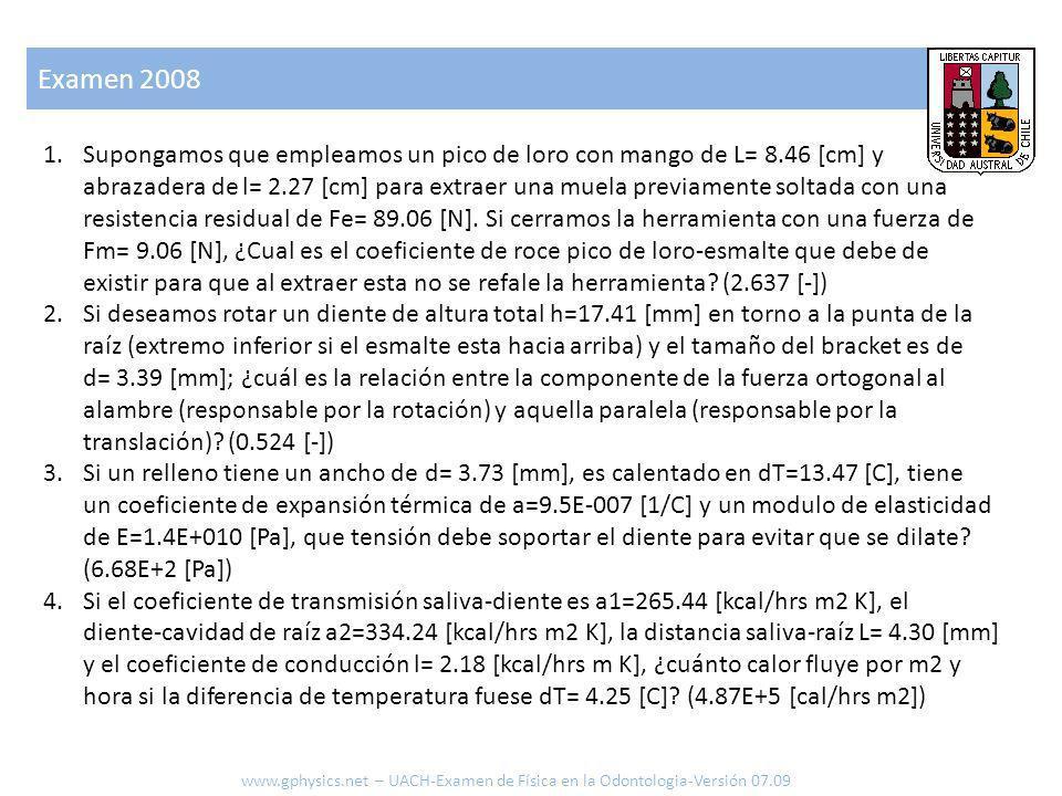 Examen 2008