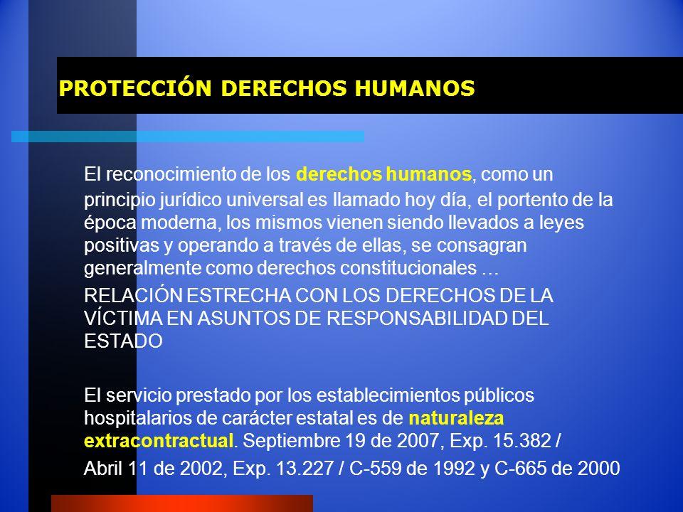PROTECCIÓN DERECHOS HUMANOS