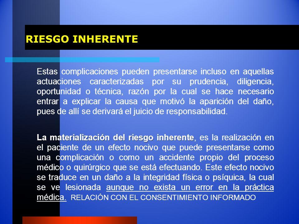 RIESGO INHERENTE