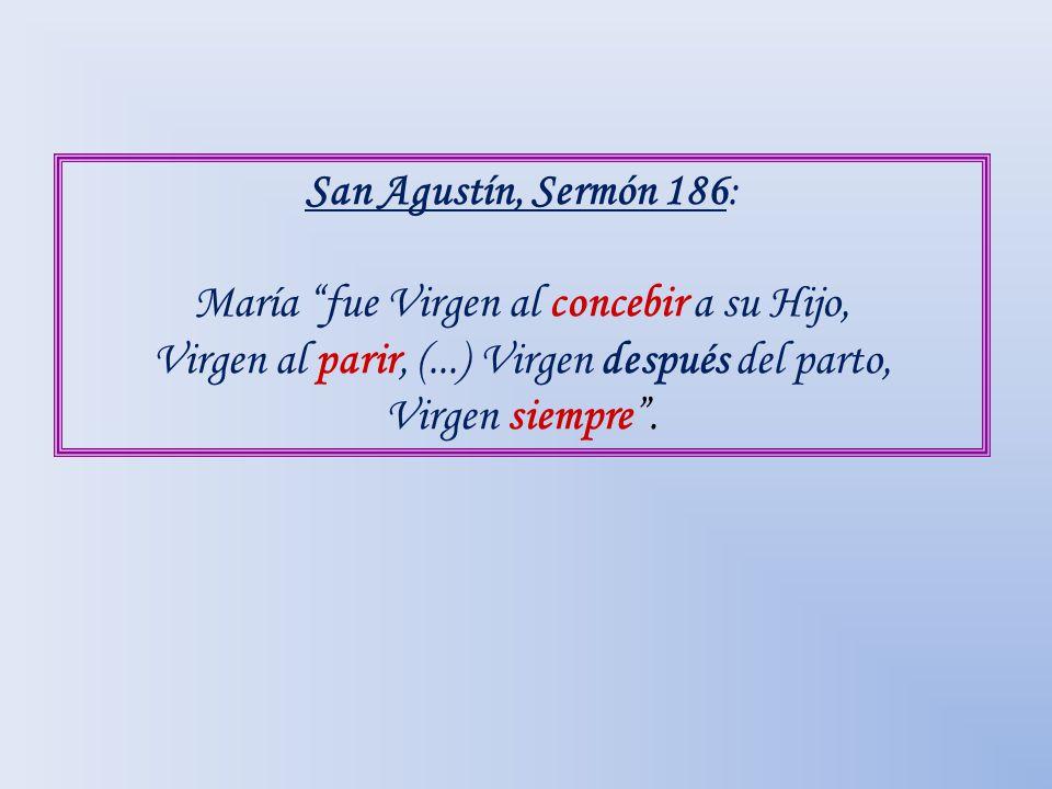 María fue Virgen al concebir a su Hijo,
